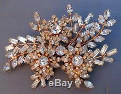 Donald Simpson Large Vintage Brooch Jewel Crest