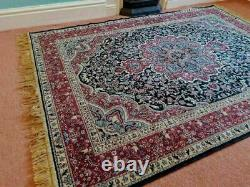 Large Vintage Boho fringed rug