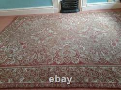 RARE Large Laura Ashley Vintage Tapestry Rug