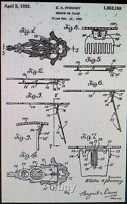 RARE1930'S CORO DUETTE FRUIT SALAD RHODIUM Vtg 3-piece DOUBLE DRESS CLIP BROOCH