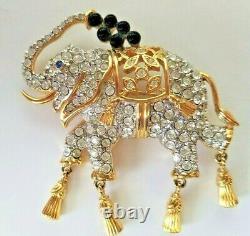Rare Beautiful Vintage Elizabeth Taylor Avon ELEPHANT WALK Pin Brooch