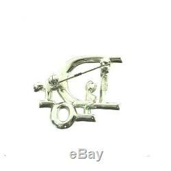 Vintage Christian Dior Rhinestone Crystal Rare Pin Brooch. NFV6301