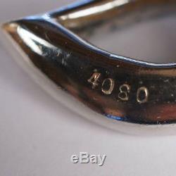 Vintage Marcel Boucher Green Rhinestone Brooch & Earrings Demi Parure