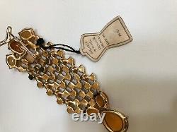 Vintage SCHIAPARELLI Brooch with Original Tag, 1940s