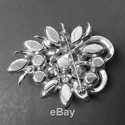 Vintage Signed Eisenberg Rhinestone Pin or Brooch (K-2)