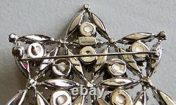 Vtg. Rare Signed Sherman 1967 Centennial Maple Leaf Large Brooch Sold As Is