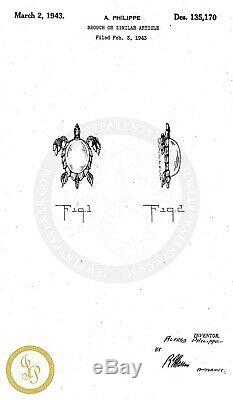 Vtg TRIFARI Jelly Belly Rhinestone Sterling TURTLE Figural Brooch Pin BOOK PC